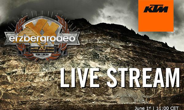 Erzbergrodeo Live Stream