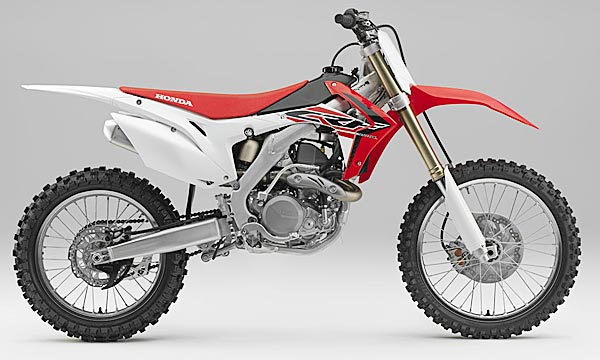 Honda CRF 2015: 3 mappe e nuove forcelle