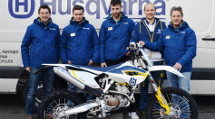 Husqvarna e CF Racing assieme nel Motorally