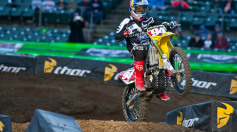 Ken Roczen SX Oakland On Board Crash