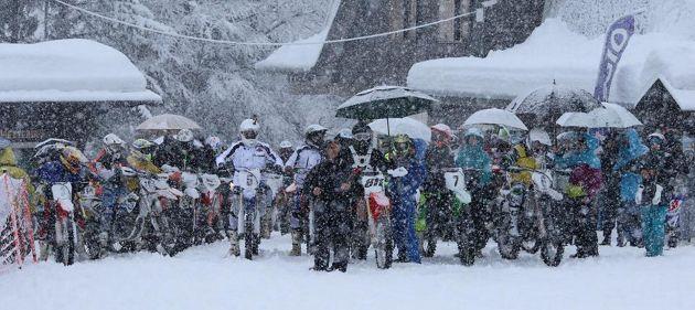 Partenza abetone snowcross 2015