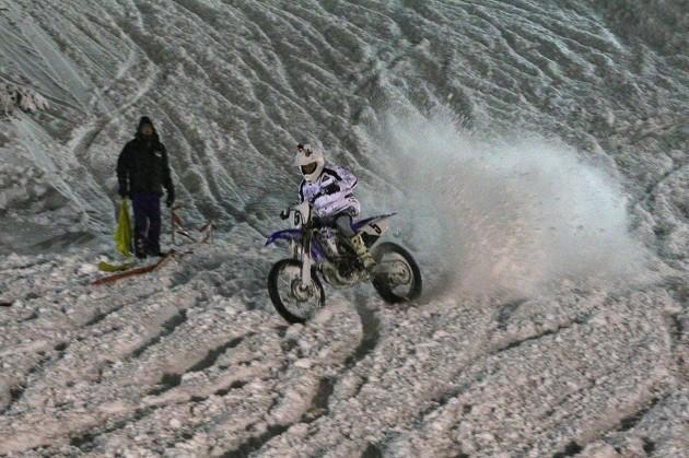 alessio mazzamuto abetone snowcross 2015