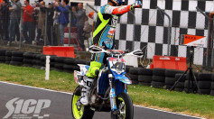 Mondiale Supermoto Ottobiano. Chareyre is back