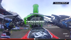 Villopoto crash MXGP of Trentino 2015