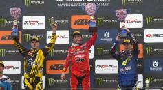 MXGP of UK MXGP Post Race Podium