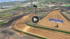 National Thunder Valley Animated Track Map