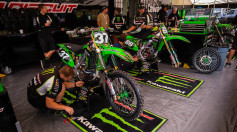 Kawasaki MXGP Glen Helen full support