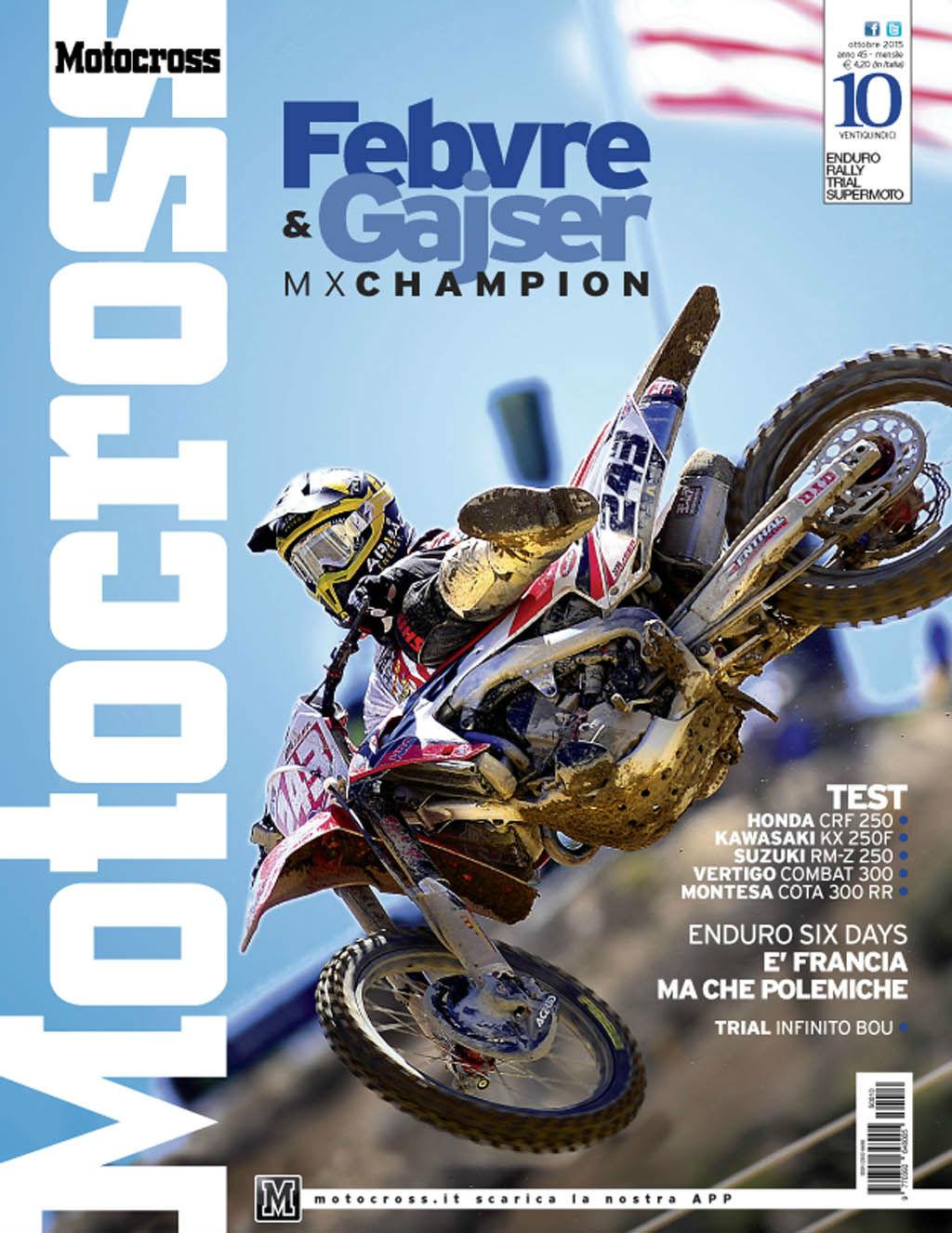 Motocross Ottobre 2015