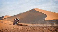 Rally Marocco Day4. Barreda fuori