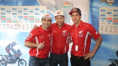 Dakar 2016 Team HRC al via!