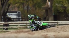 Eli Tomac VIDEO primo contatto Kawasaki