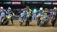 Supercross VIDEO crash Paris Lille