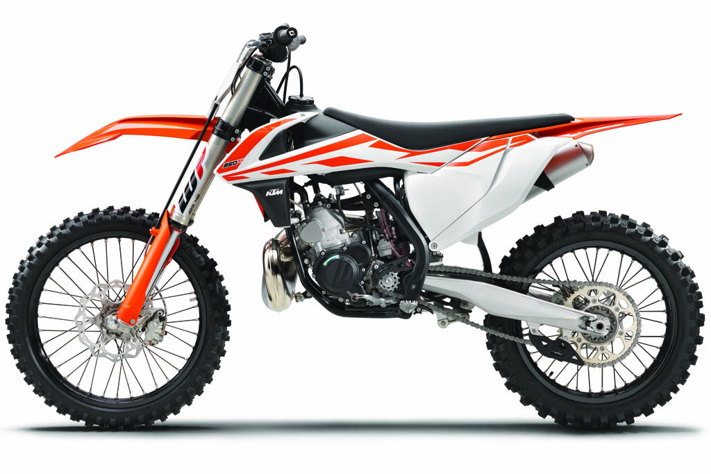 ktm cross 2017 nuova sx 250 2t e traction control. Black Bedroom Furniture Sets. Home Design Ideas