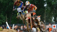 MXGP of Lombardia Qualifying Herlings e Bobryshev on fire