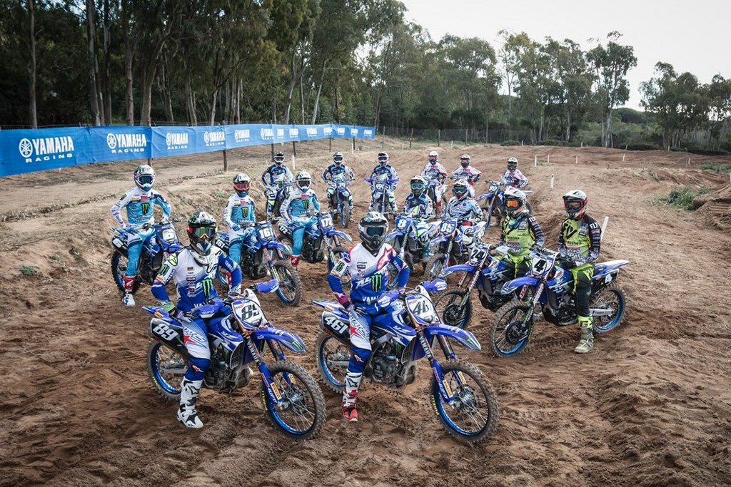 Yamaha Factory riders 2017 all