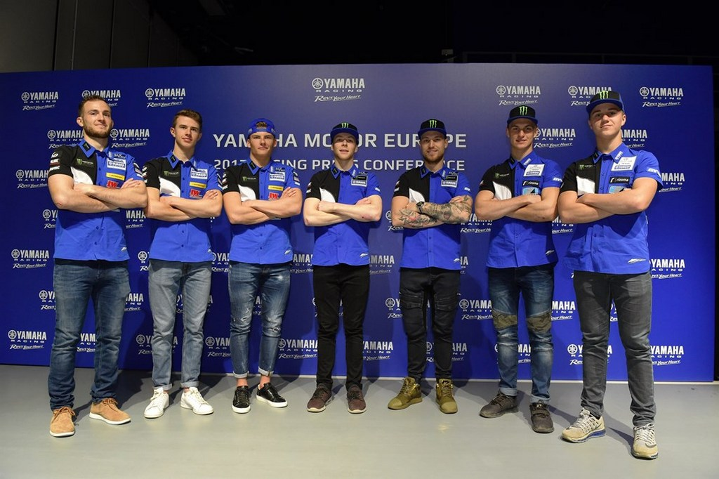 Yamaha Factory riders 2017