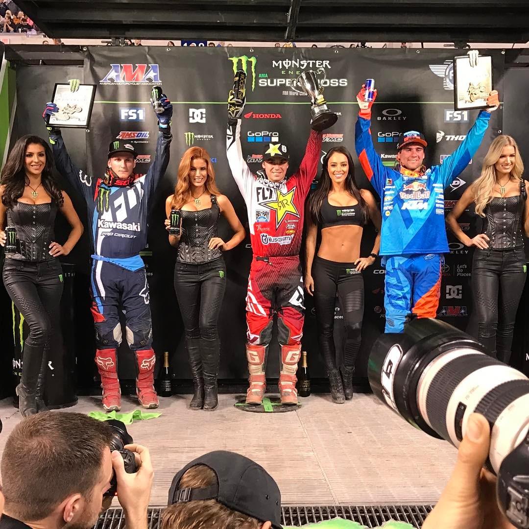 Sx Indianapolis podio 250 2017