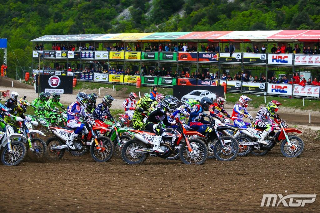 EMX 250 start 2017 Trentino