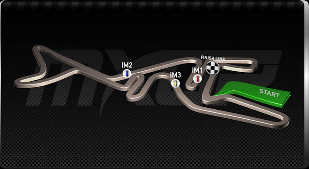 track map MXGP Arco 2017