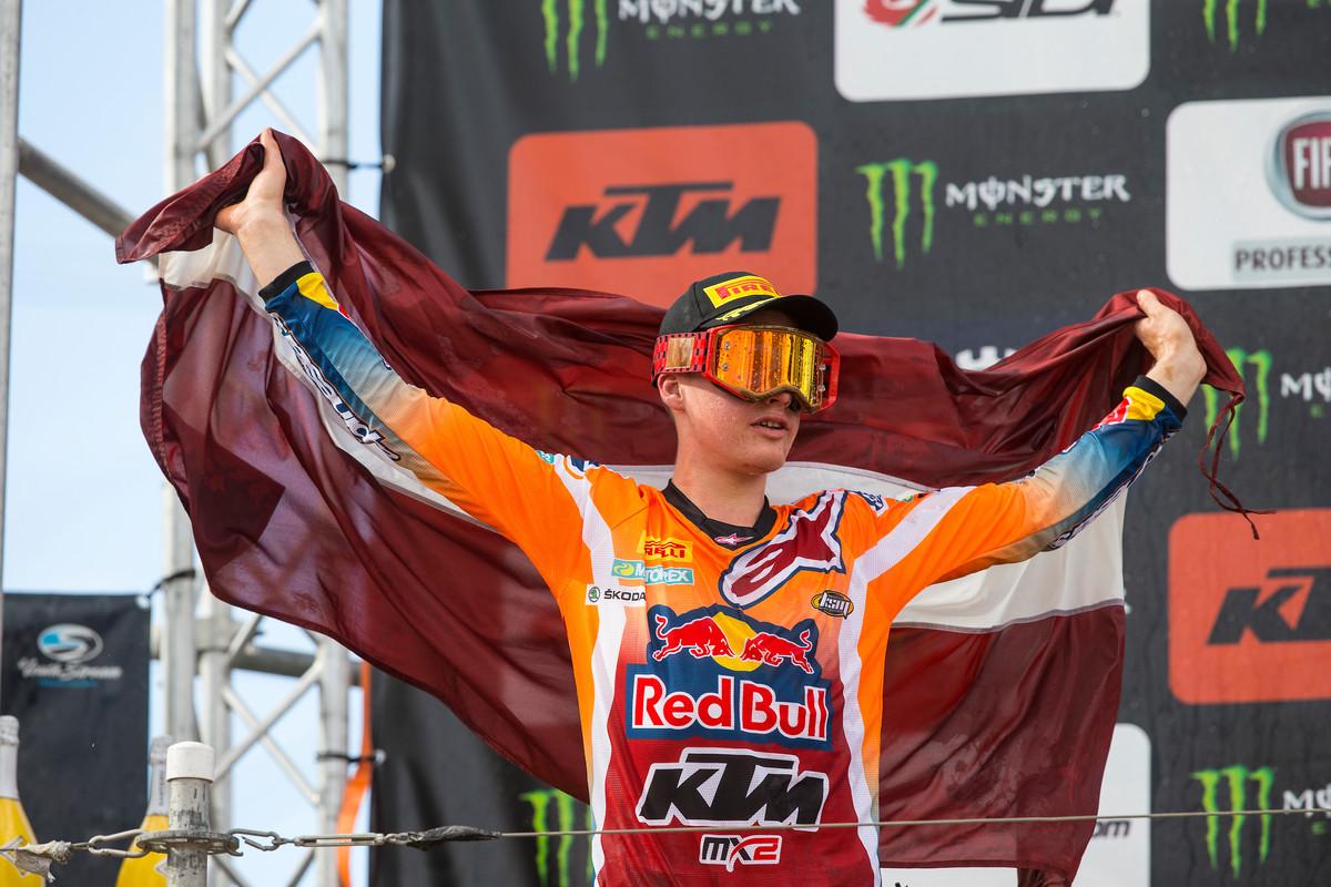 MXGP of Latvia La pagella Mid-sand Jonass
