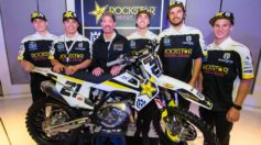 Rockstar Energy Husqvarna Sx Rider Line up