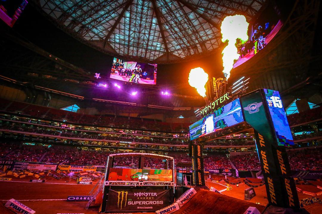 Supercross Atlanta Results 2018