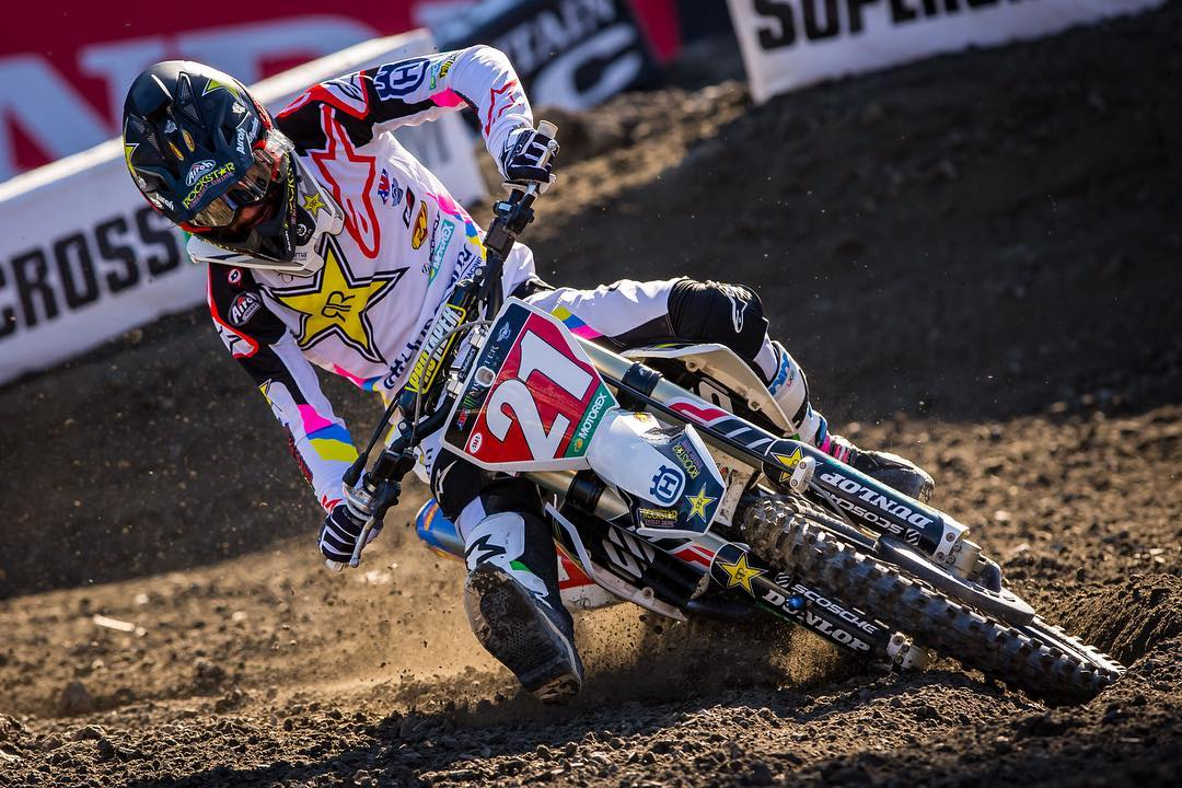 Supercross Foxborough Anderson 2018