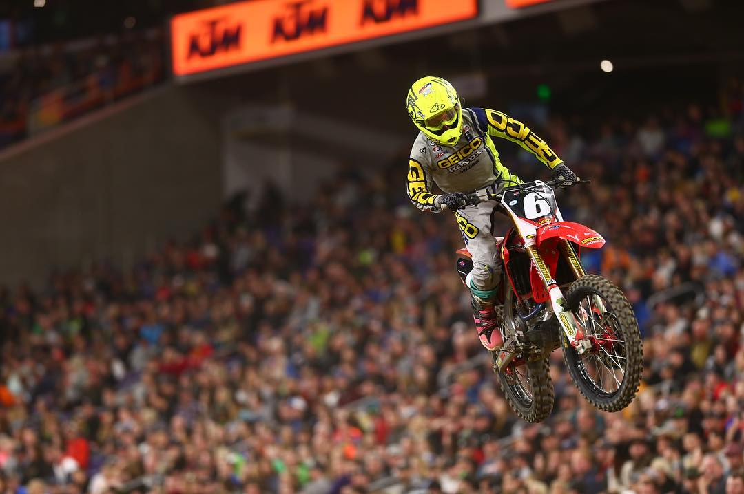 Supercross Minneapolis Nessuna incertezza Martin 2018