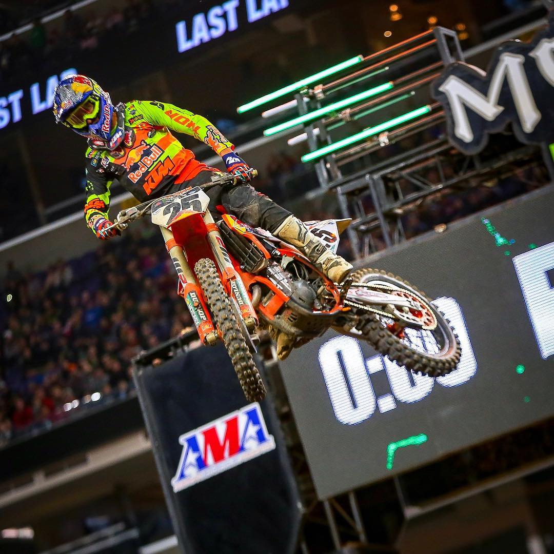 Supercross Minneapolis Nessuna incertezza Musquin 2018