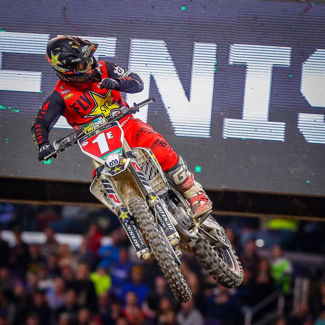 Supercross Minneapolis Nessuna incertezza Osborne 2018