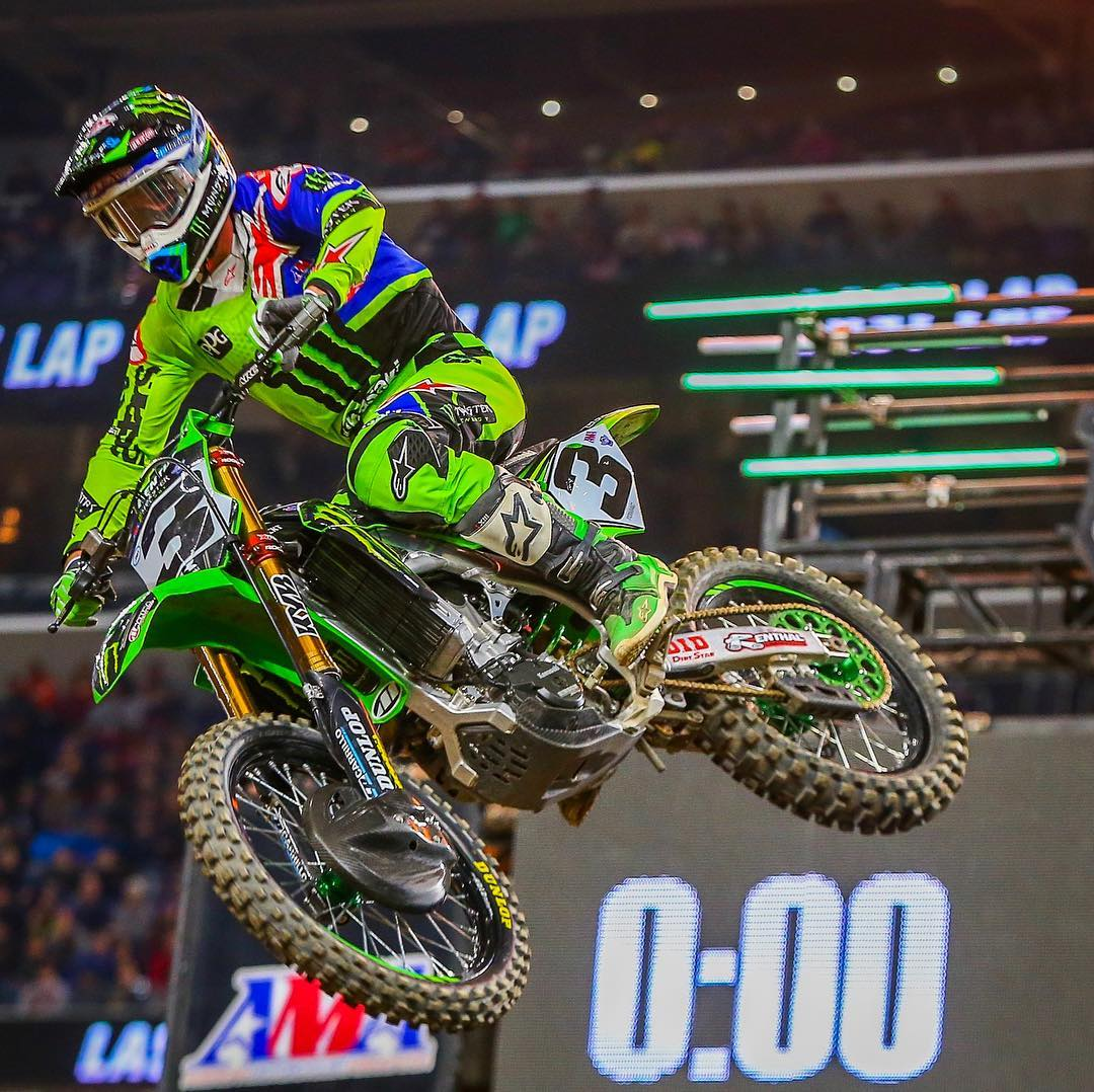 Supercross Minneapolis Nessuna incertezza Tomac 2018