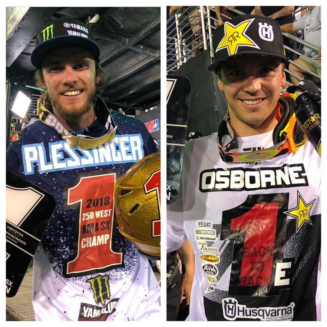 Supercross Las Vegas Tutto confermato Osborne Plessinger 2018
