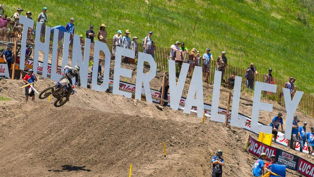 Thunder Valley MX VIDEO Track map A 2018