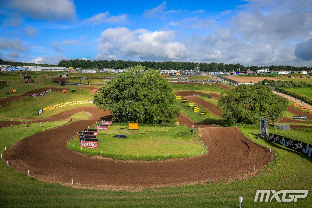 MXGP of Great Britain track view 2018
