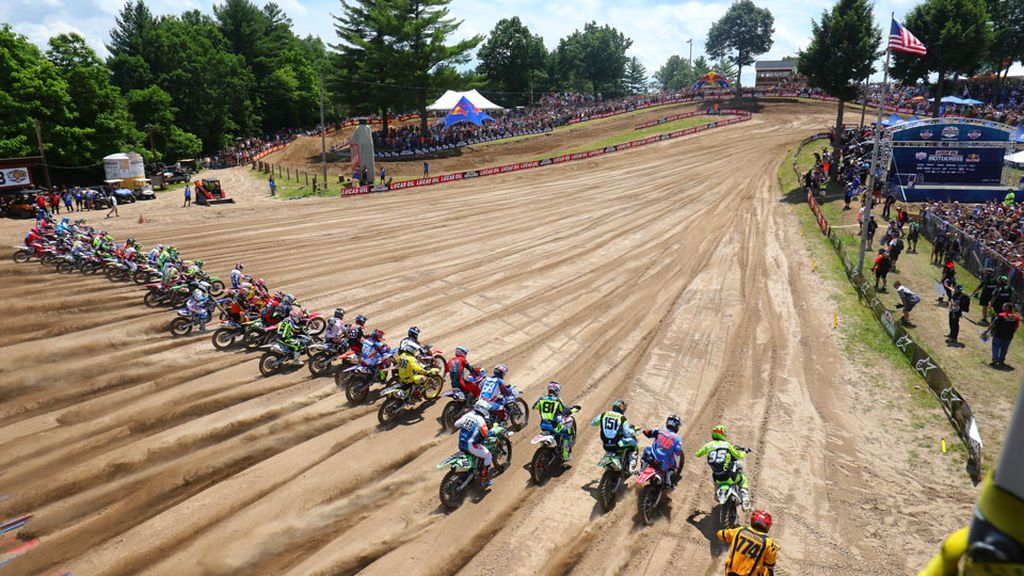 Southwick MX VIDEO Track map A 2018