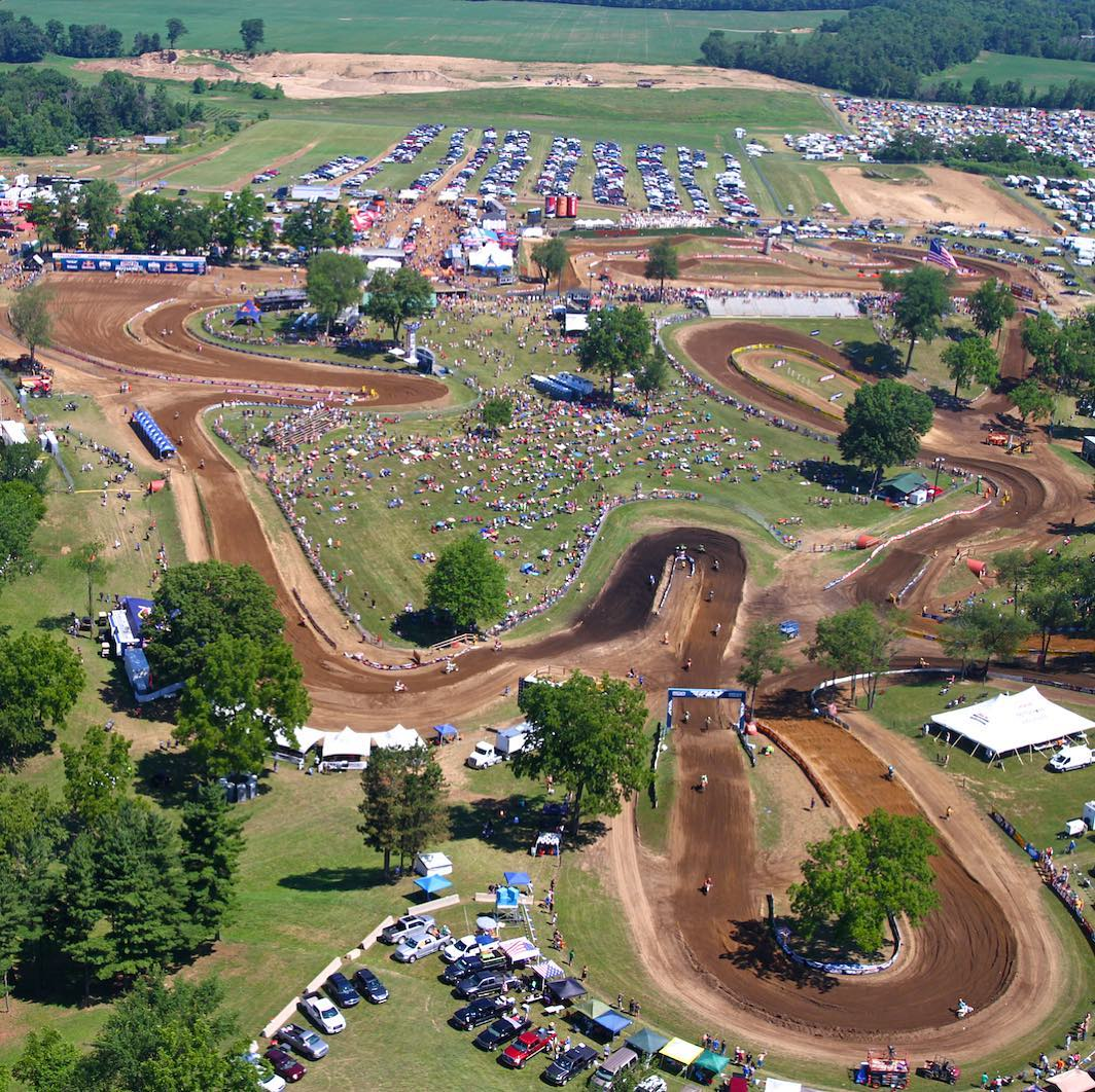 AMA National Red Bud Race Links track 2018