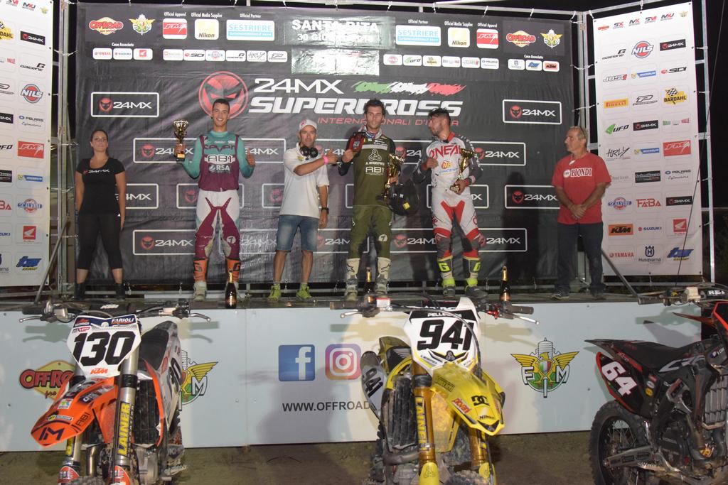 America No, grazie! Santa Rita! - Internazionali SX FMI - Podio Supercross (2)