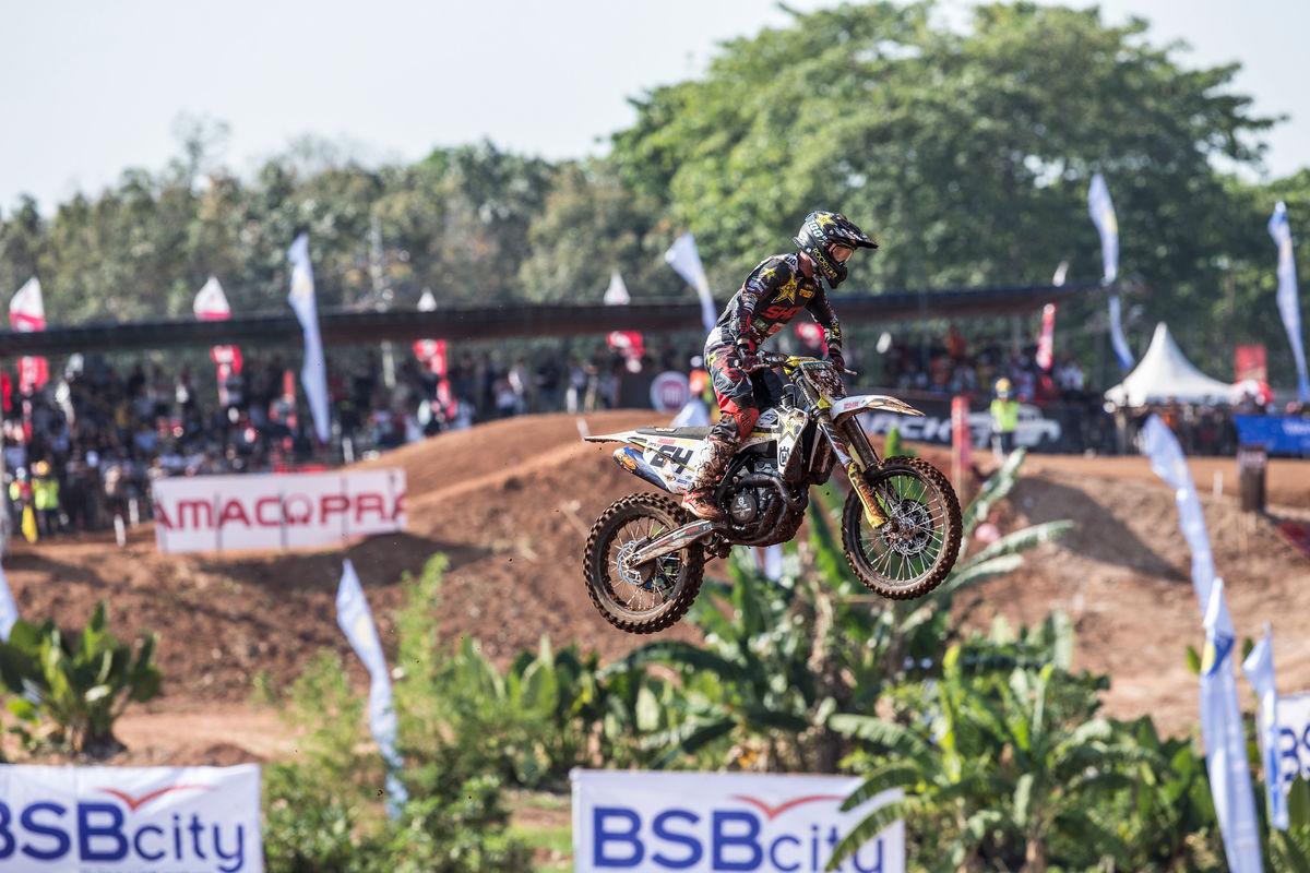 MXGP of Indonesia Asia Covington moto 2 2018