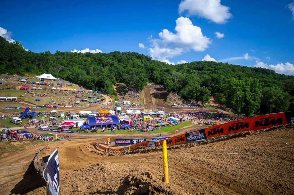 Spring Creek MX VIDEO Track map 2018