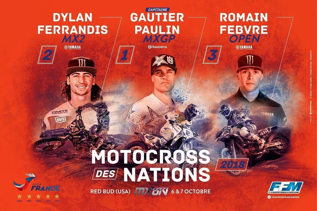 MXoN 2018 Musquin ancora escluso dall'Equipe de France