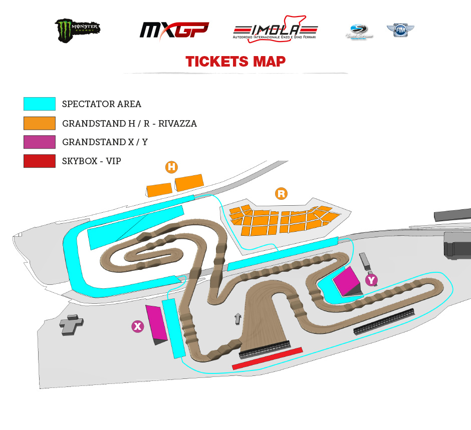 MXGP of Italy TV schedule & Race Links trackmap 2018