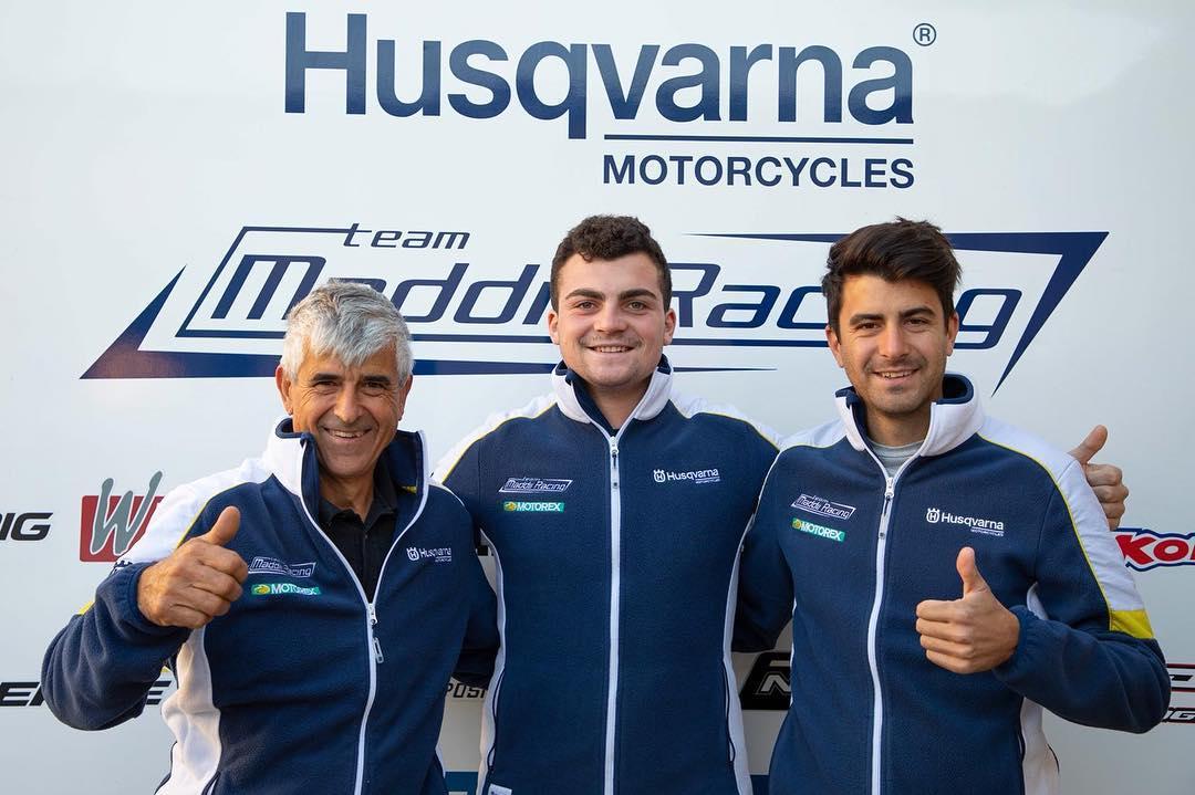 Alberto Forato e Maddii Racing Husqvarna insieme nel 2019