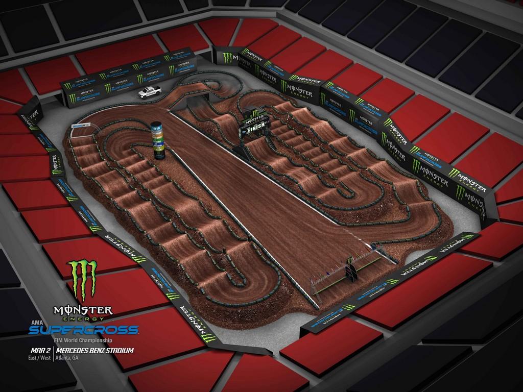 Mercedes Benz Seattle >> Supercross 2019 Track Maps - Motocross.it