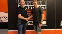 Max Anstie e Standing Construct KTM insieme nel 2019