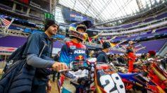 Supercross Minneapolis VIDEO Go Pro