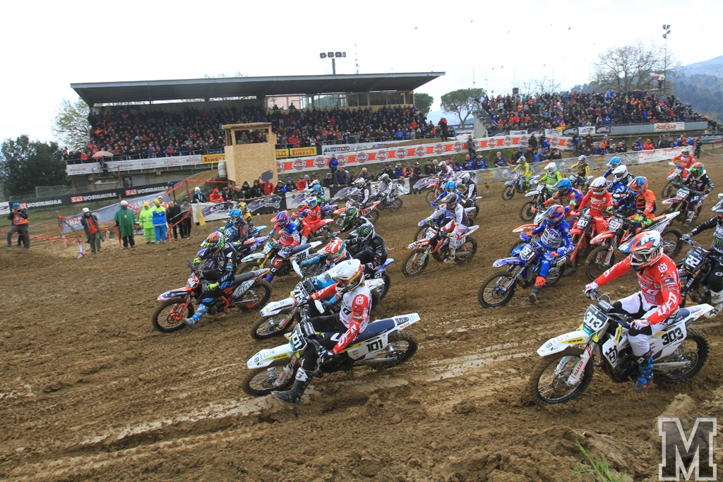 MX Prestige Montevarchi start MX2 moto 1 2019
