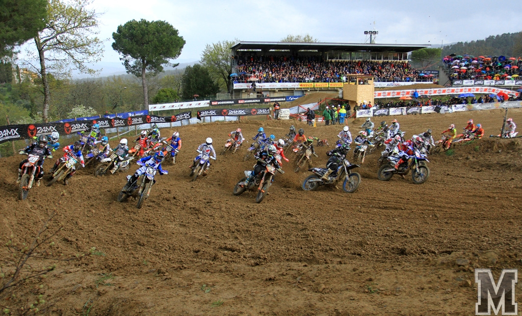 MX Prestige Montevarchi start MX2 moto 2 2019
