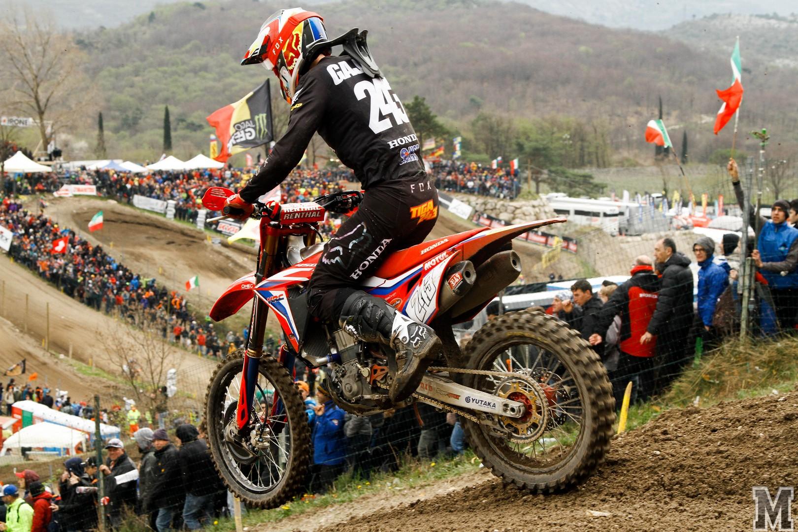 MXGP of Trentino Gajser moto 2 2019