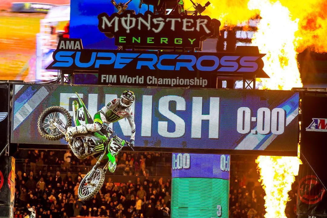 Supercross Denver Tomac insiste 2019