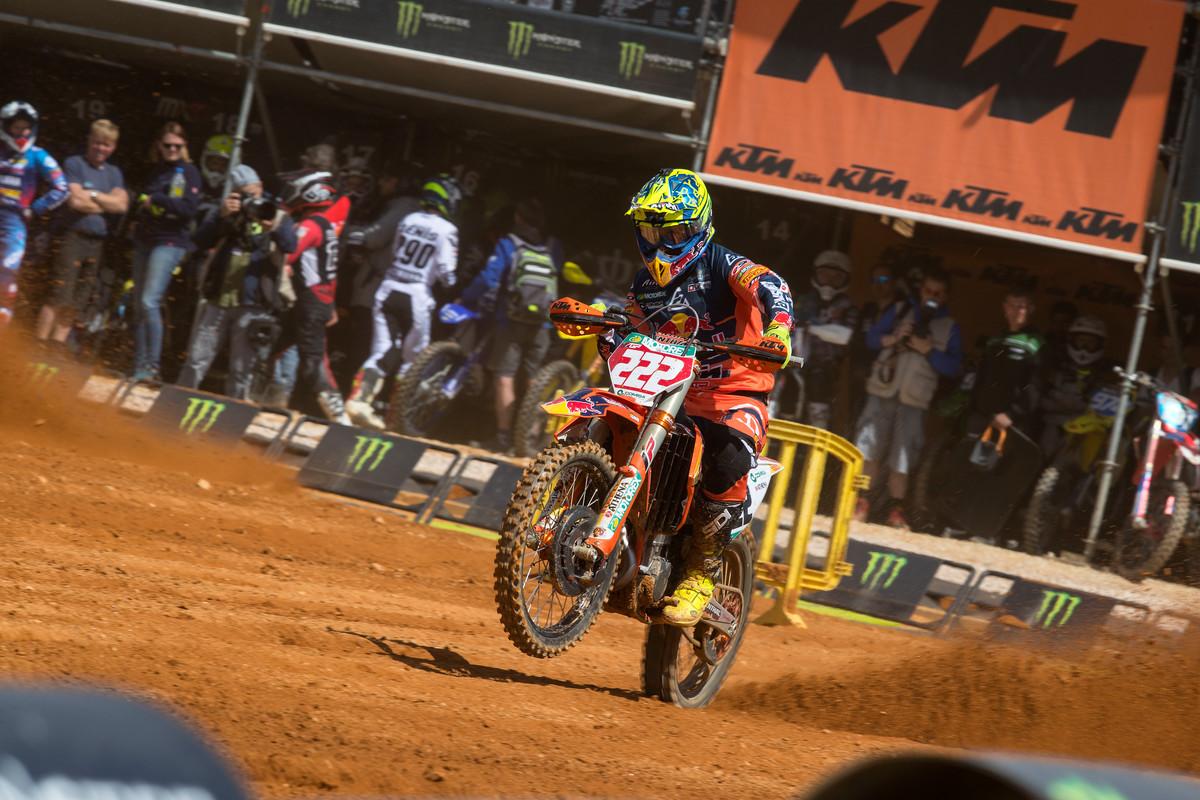MXGP of Portugal Cairoli moto 2 2019
